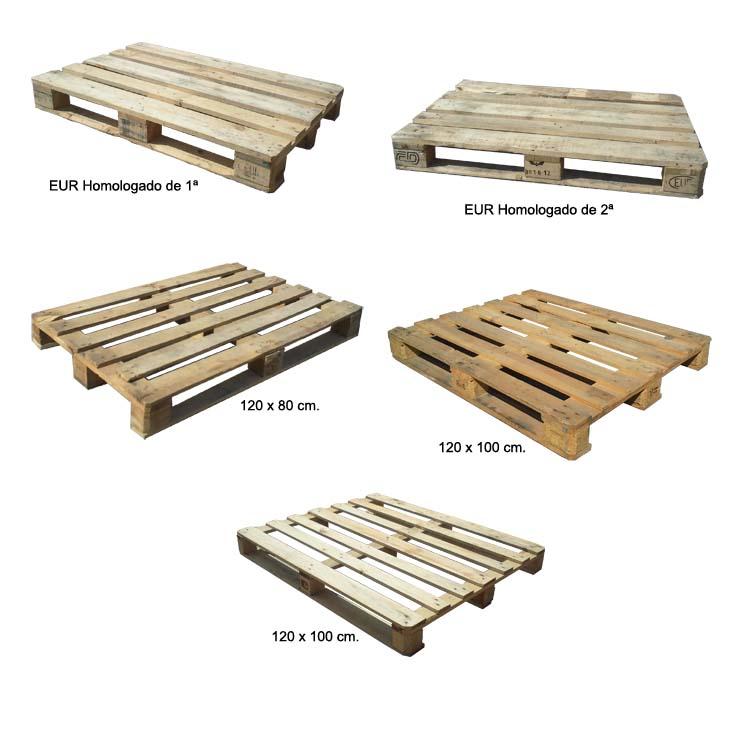 Palet recuperado manutenci n y embalajes casadevall s a for Medidas de palets de madera